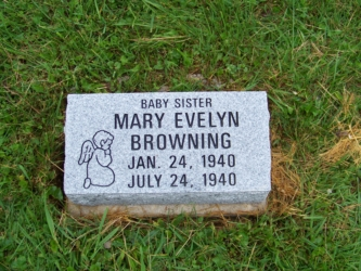 Browning, Mary Evelyn Rose Hill- Bevel- gray
