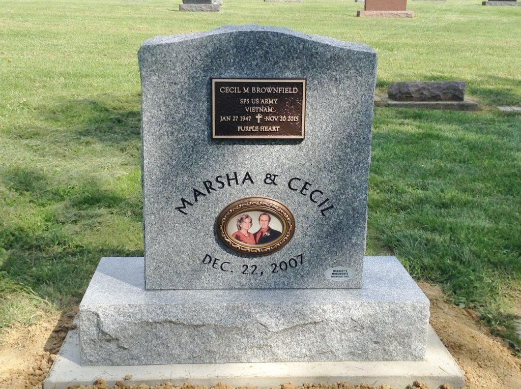 Brownfield Bronze Accent Memorial