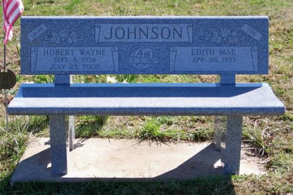 Johnson Bench Memorial