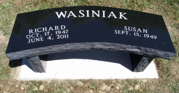 Wasiniak Bench Memorial