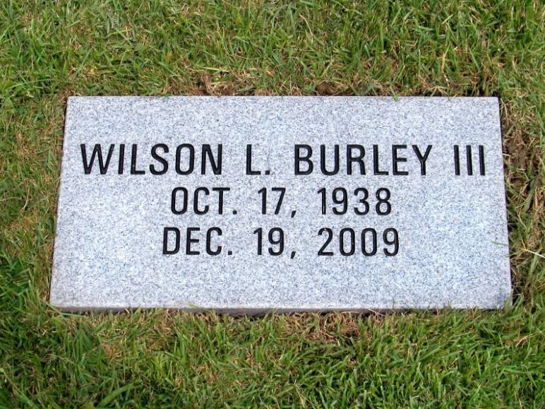 Burley Flush Flat Headstone