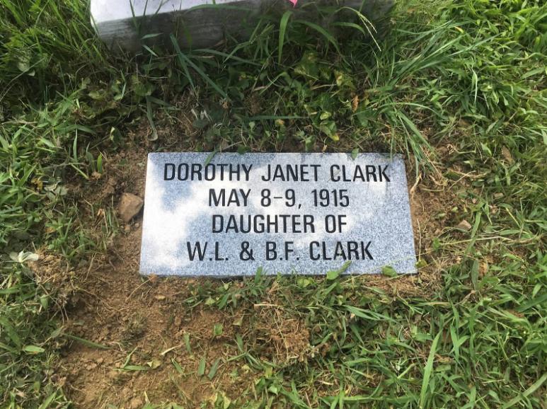 Clark Flush Flat Memorial