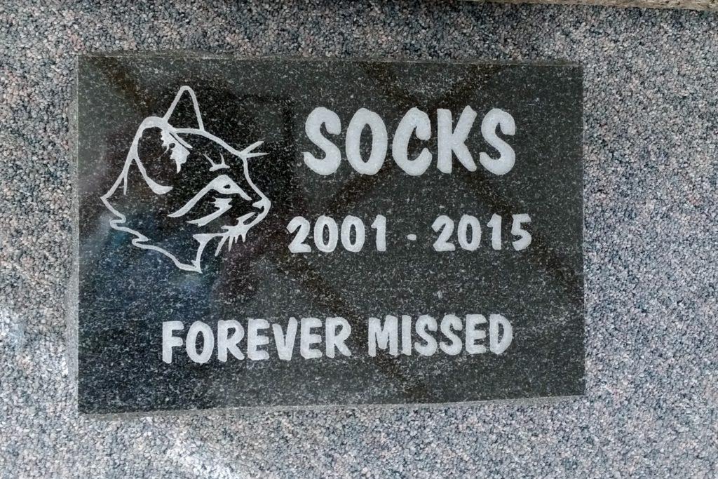 Memorial Pet Stone