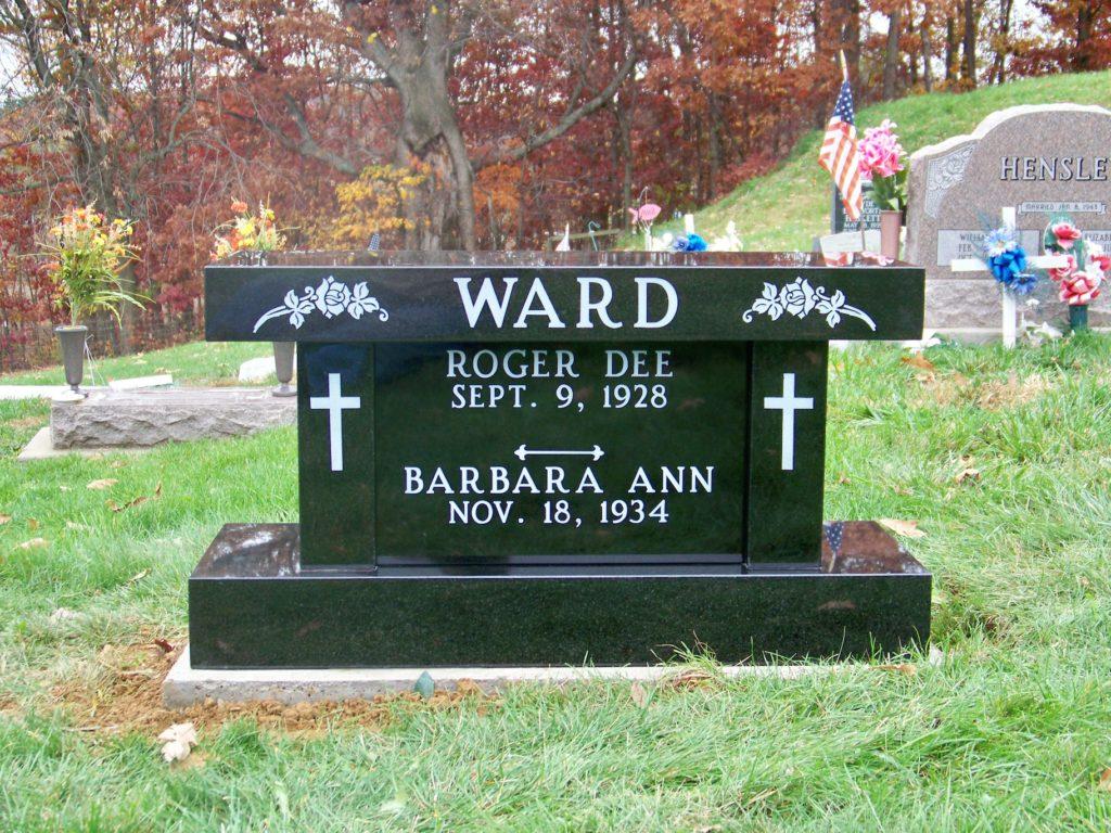 Ward Cremation Bench