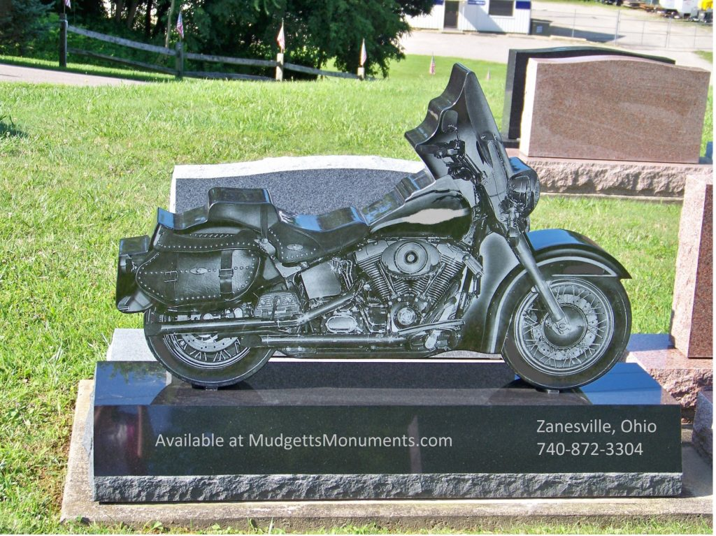 Motorcycle Upright Memorial