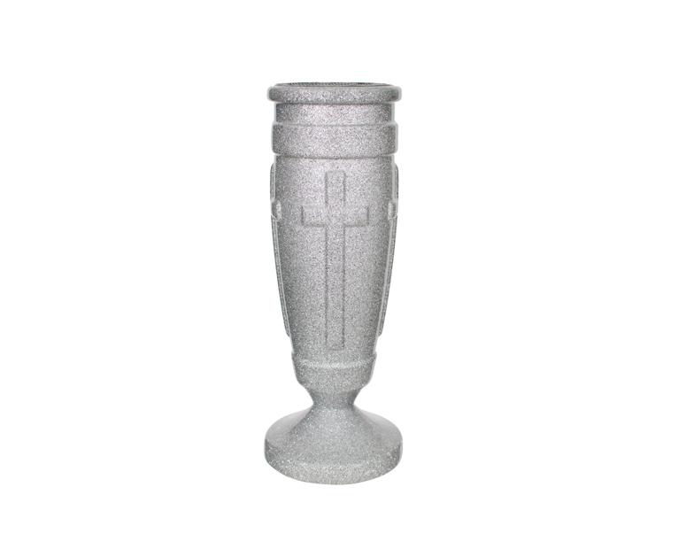 Regal Cross Flush Ground Vase