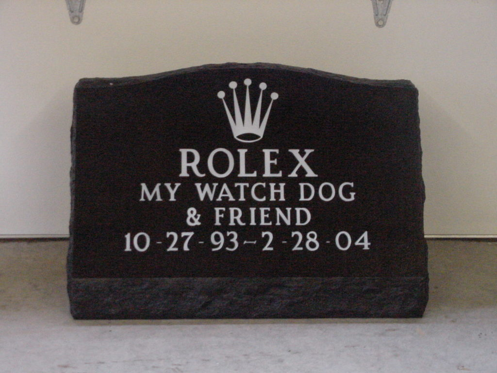 Rolex Pet Slant Memorial