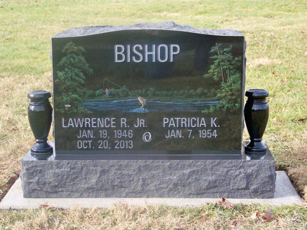 Bishop Companion Upright Memorial