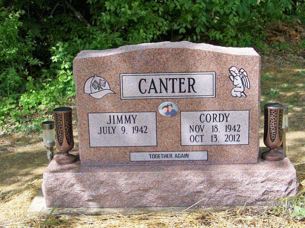 Canter Companion Upright Memorial