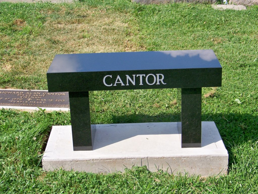 Cantor Bench Monument