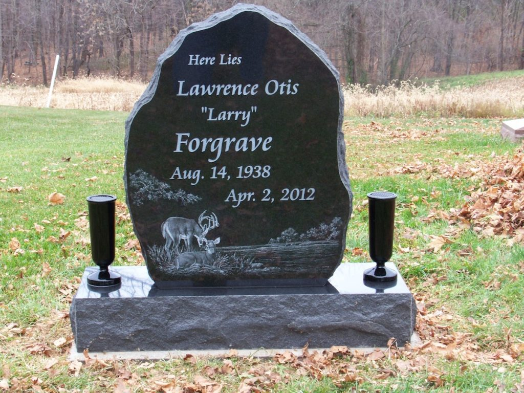 Forgrave Upright Headstone