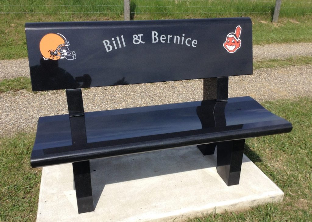 Personalized Bench Memorial