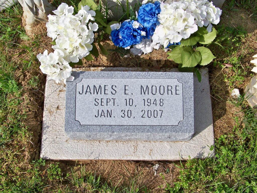 Moore Flat Headstone