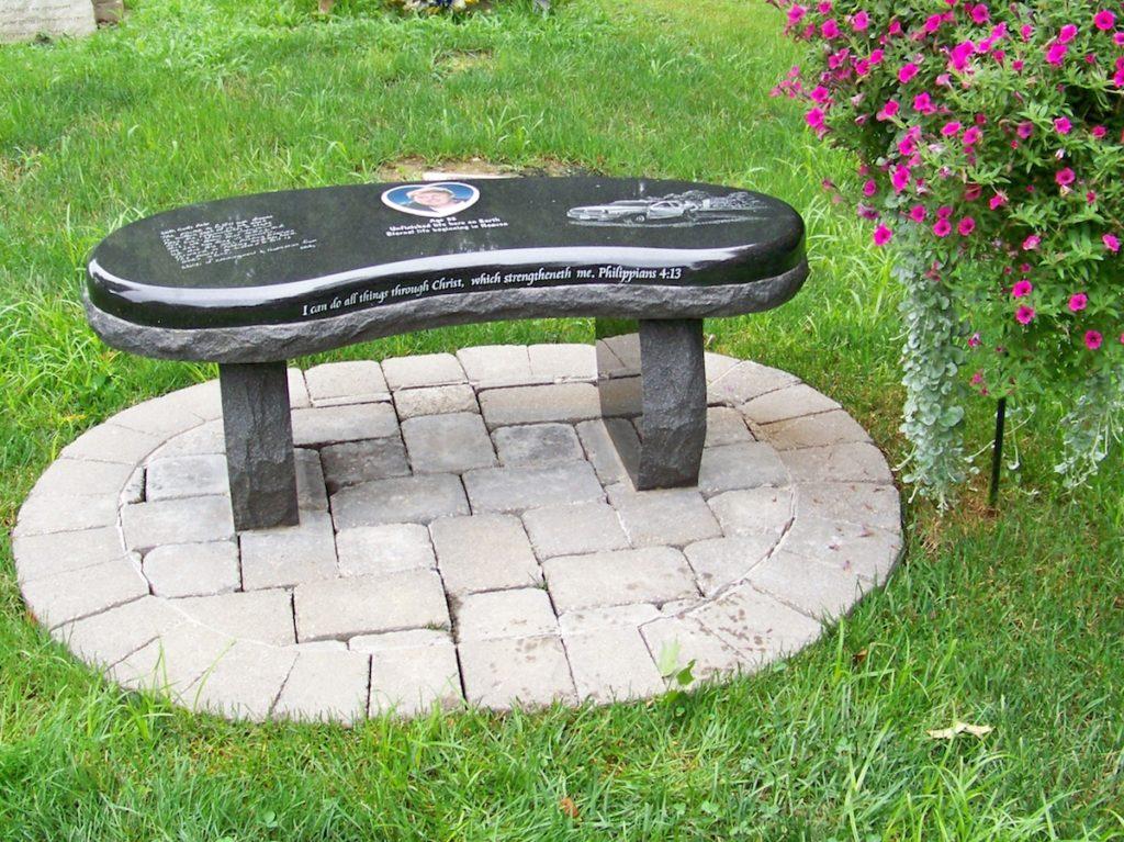 Photo Bench Memorial