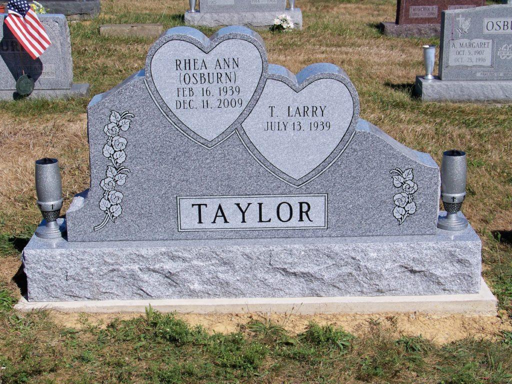 Taylor Companion Hearts Monument