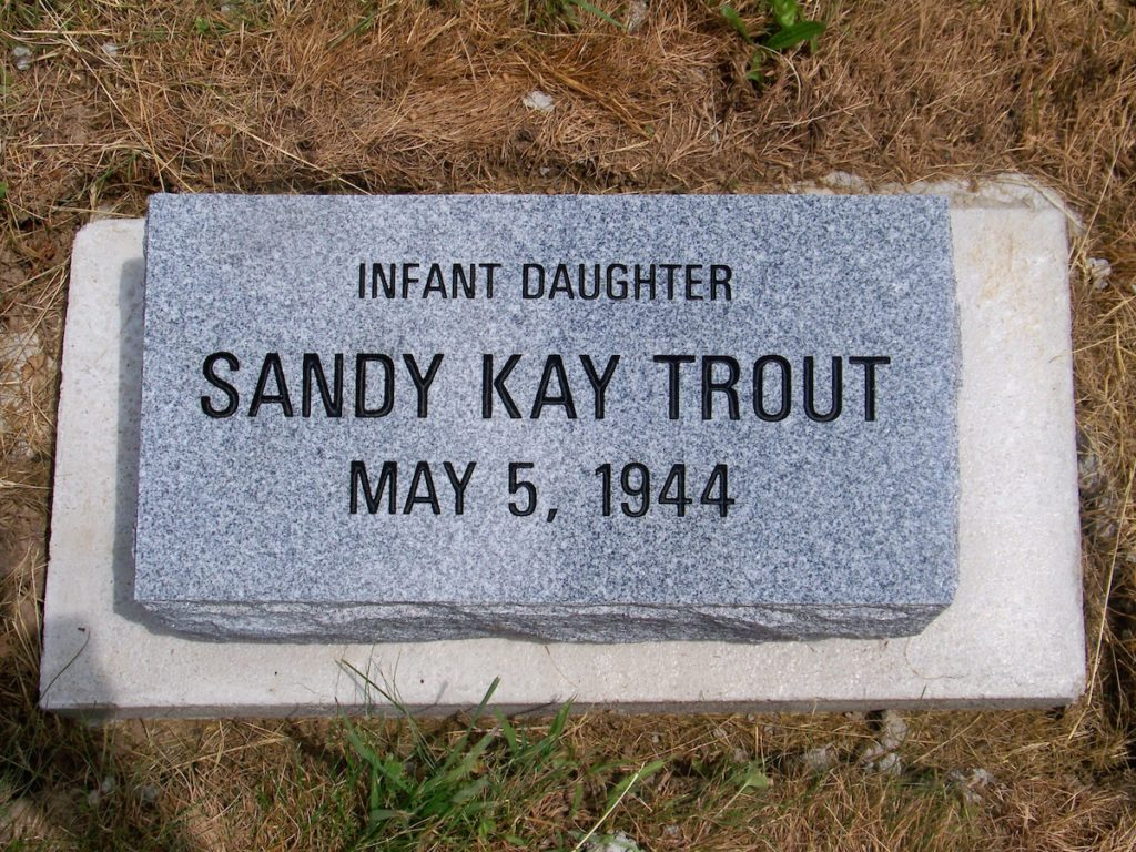Trout Child Memorial