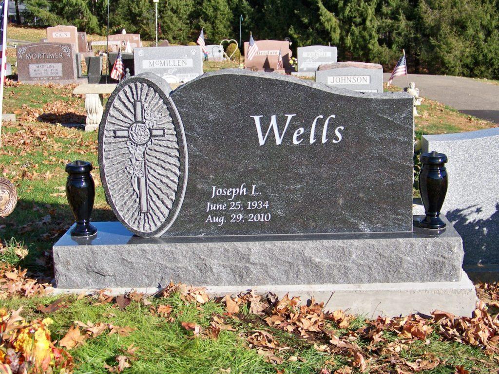 Wells Upright Gravestone