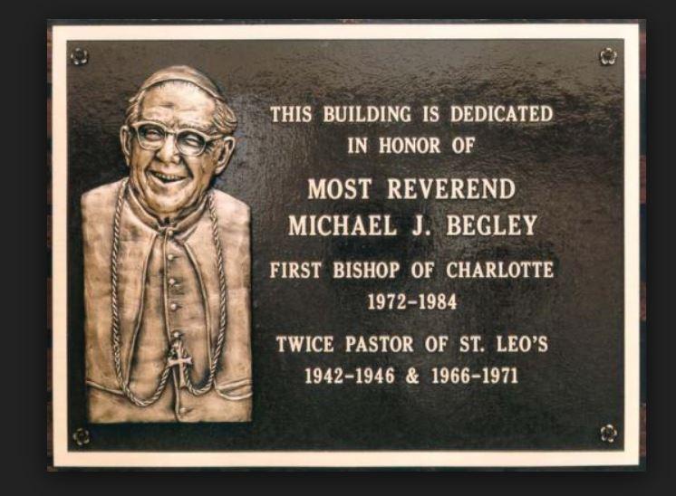 Dedication Bronze Plaque