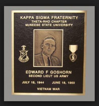 Fraternity Bronze Plaque