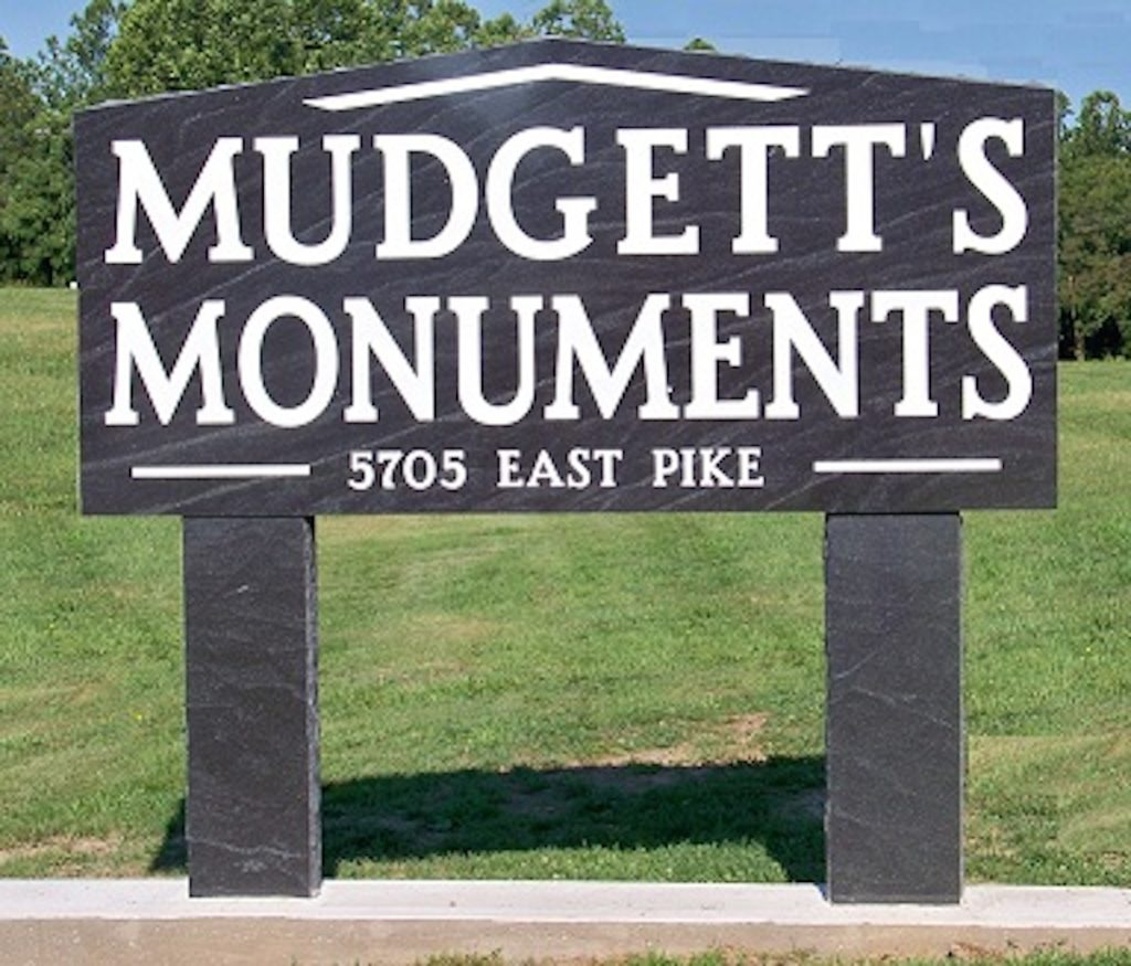 Monument Business Sign