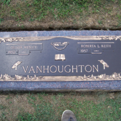 Vanhoughton, Oliver, Roberta- Bronze on Mahogany granite