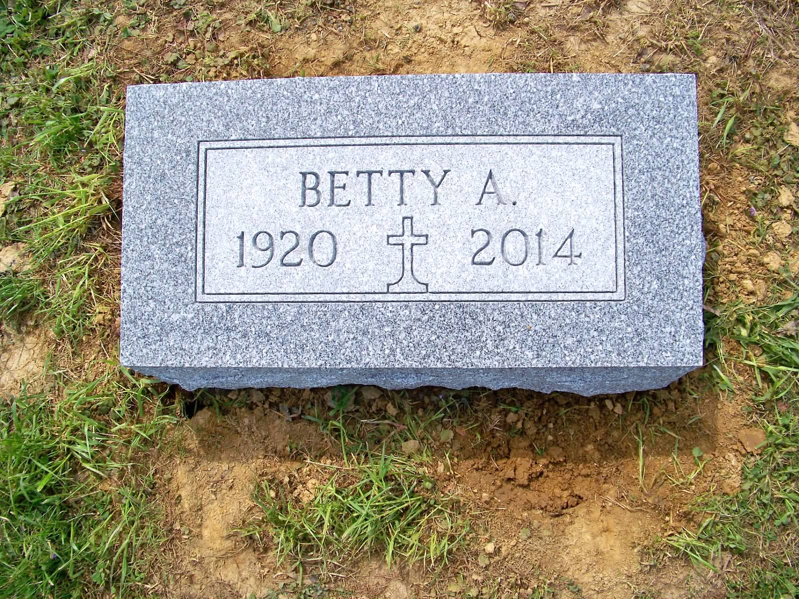 Betty Bevel Marker