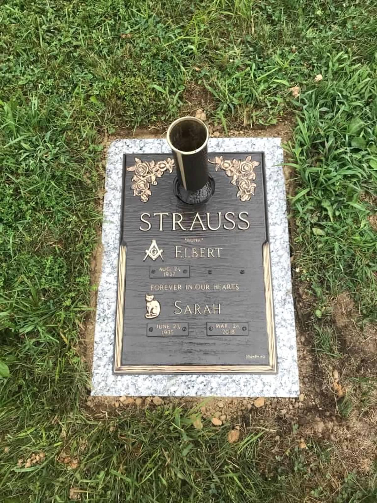 Strauss Bronze Memorial
