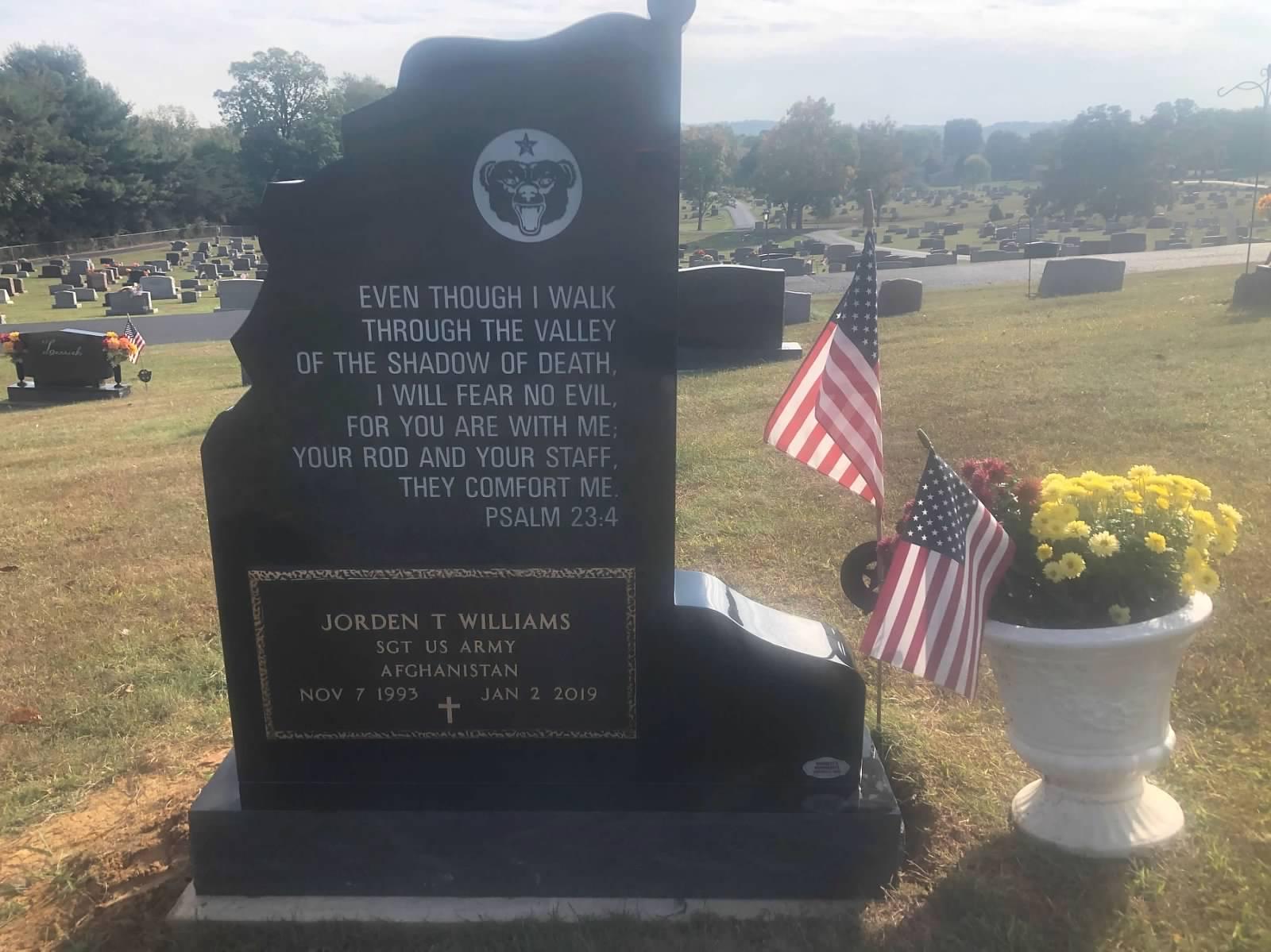 Veterans Carved Bronze Marker