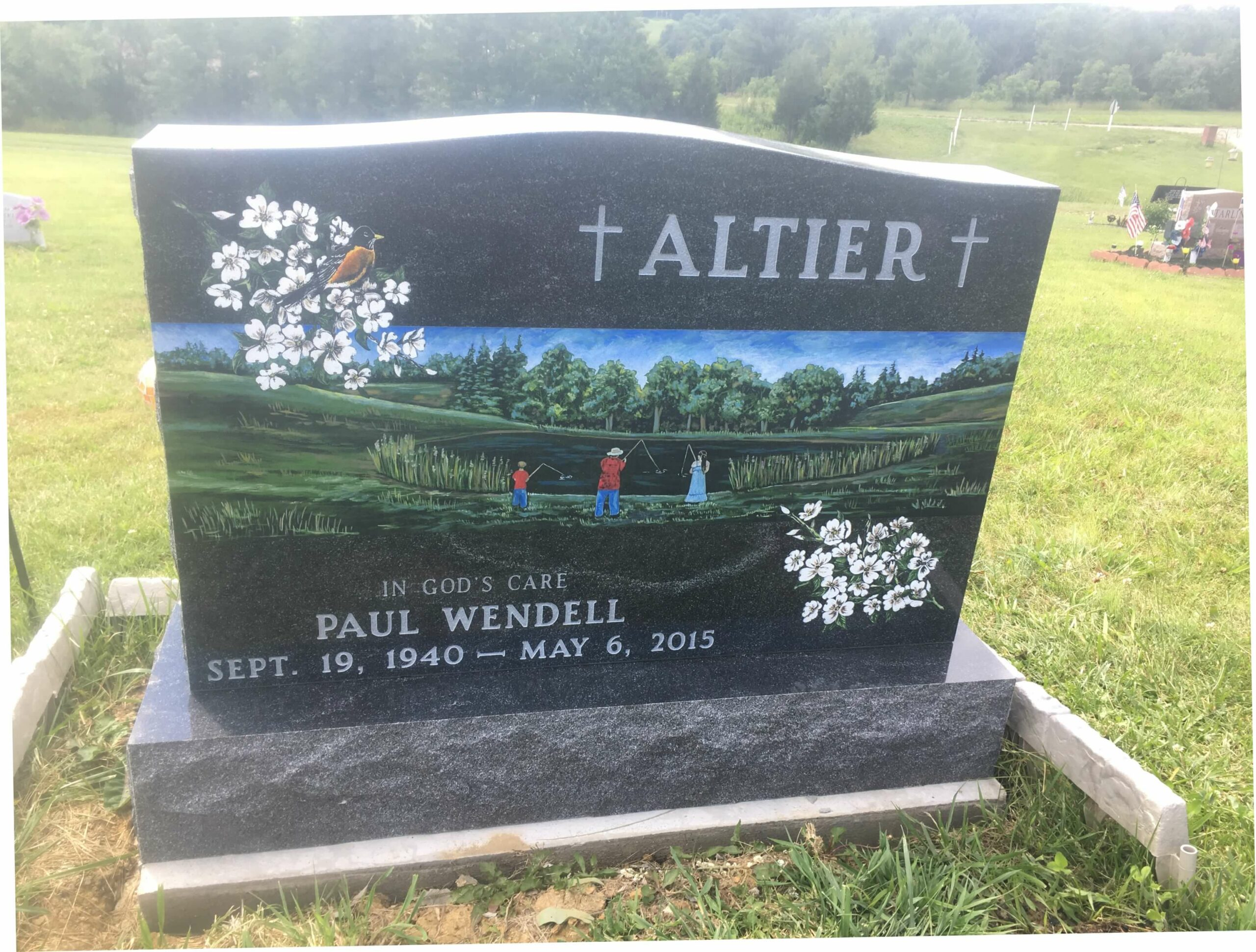 Altier, Paul W. - Millerstown Cemetery, 3-0, Amer. Black II