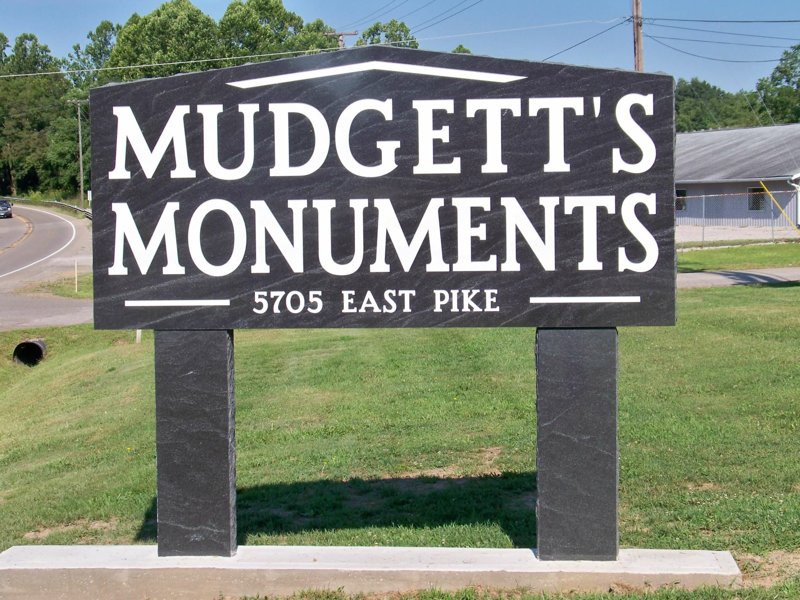 Mudgett sign