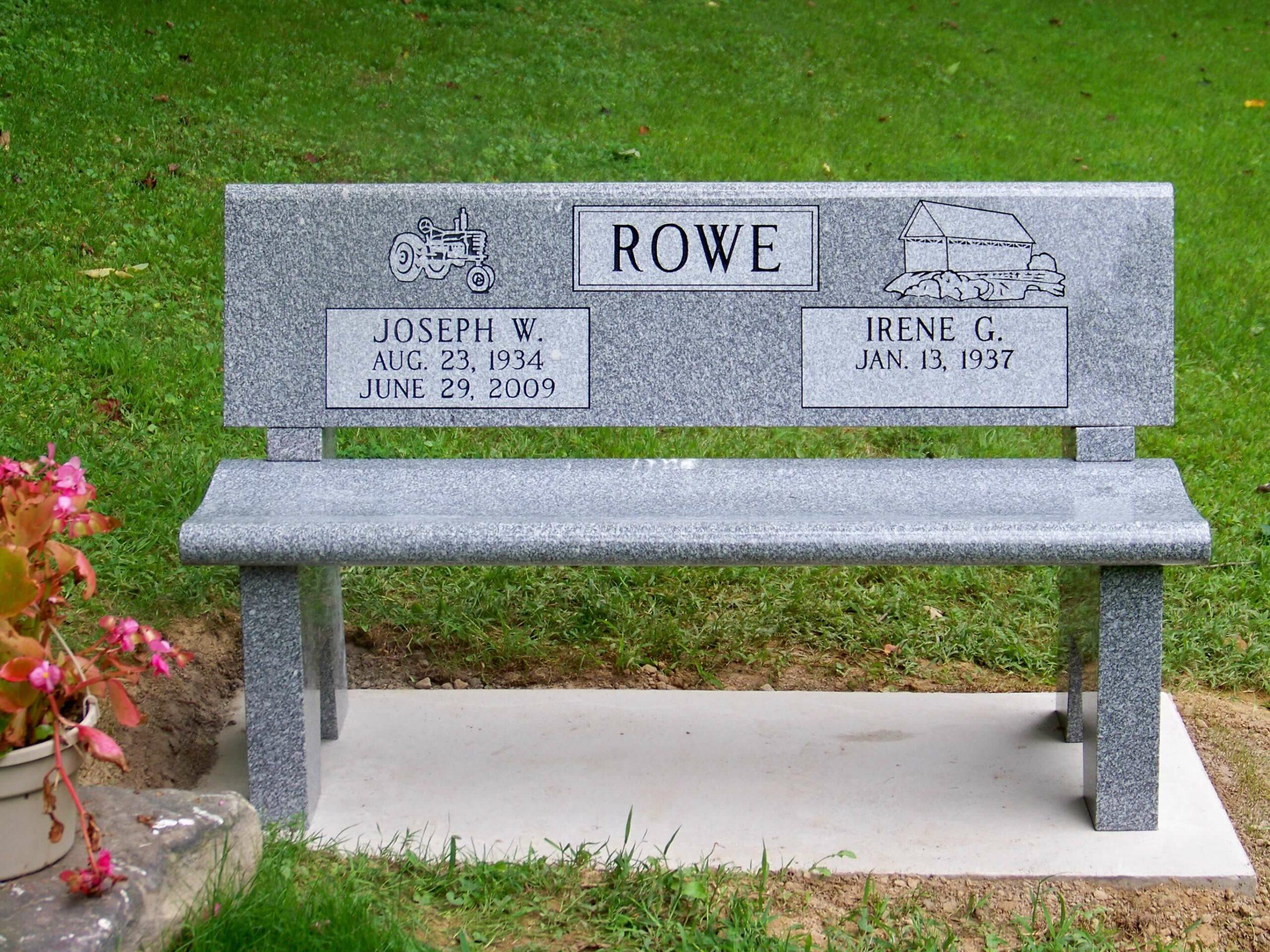 Rowe, Joseph W. Irene G.