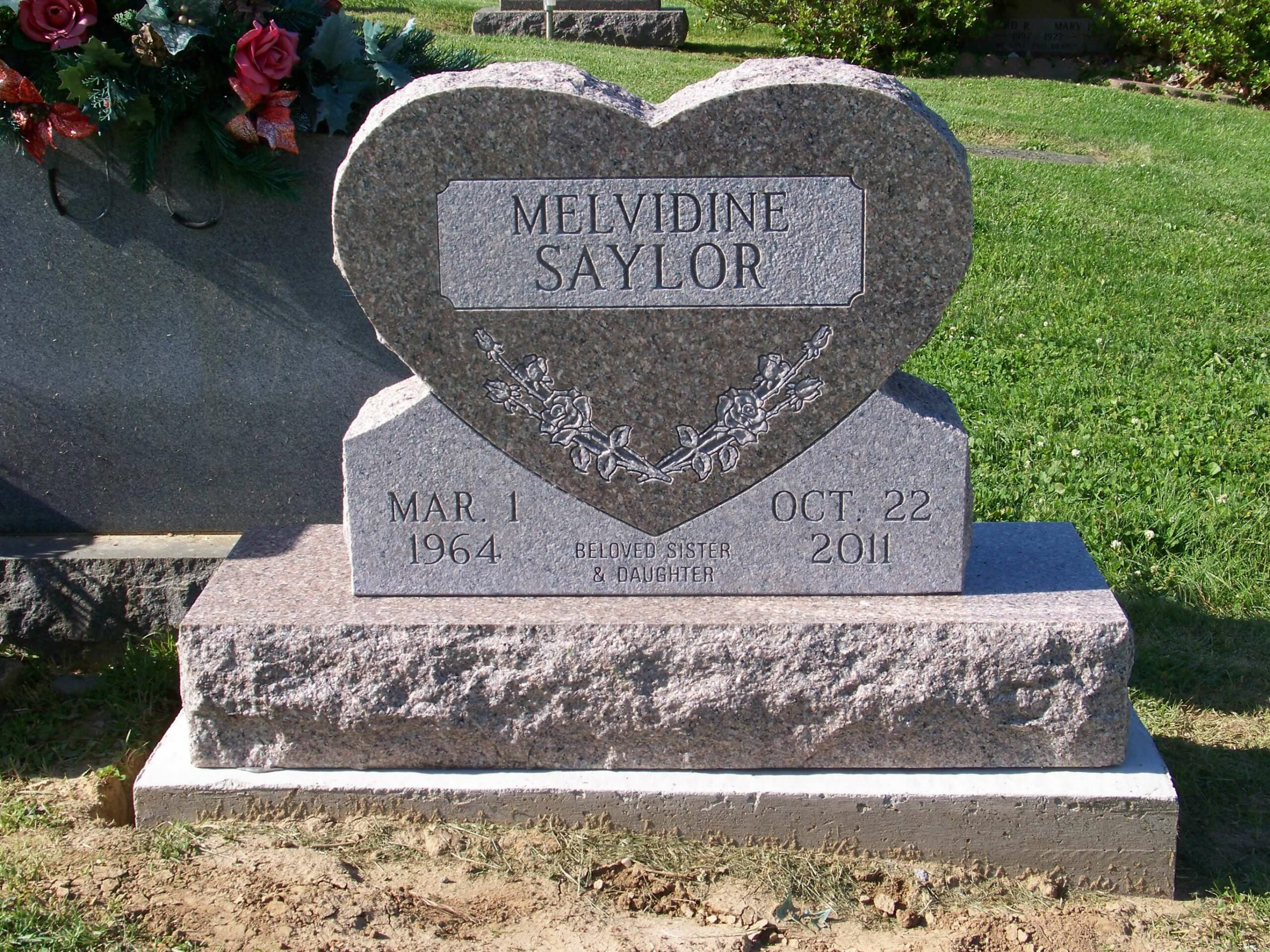 Saylor, Melvidine