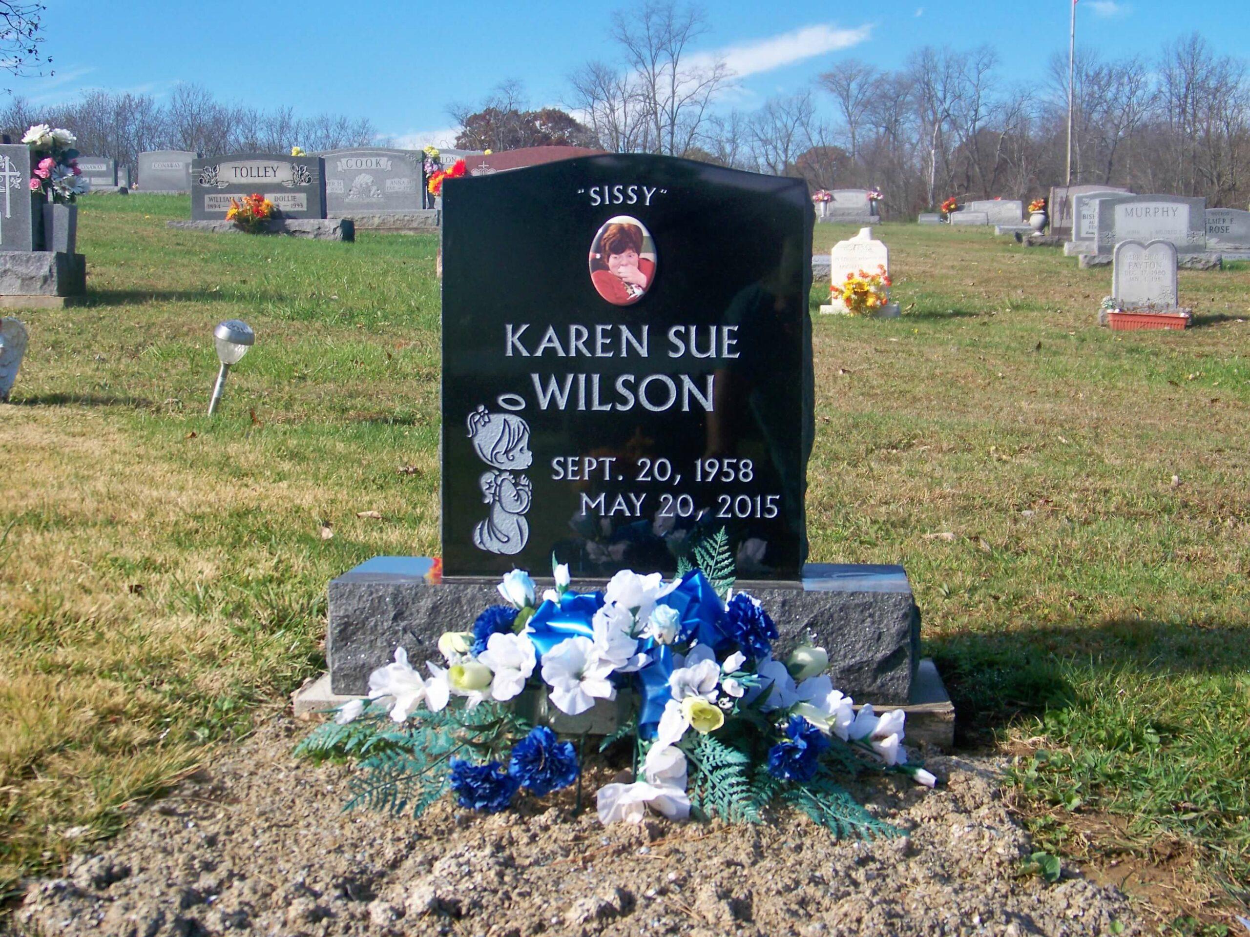 Wilson, Karen-Iliff Cemetery, 1-8 (F)