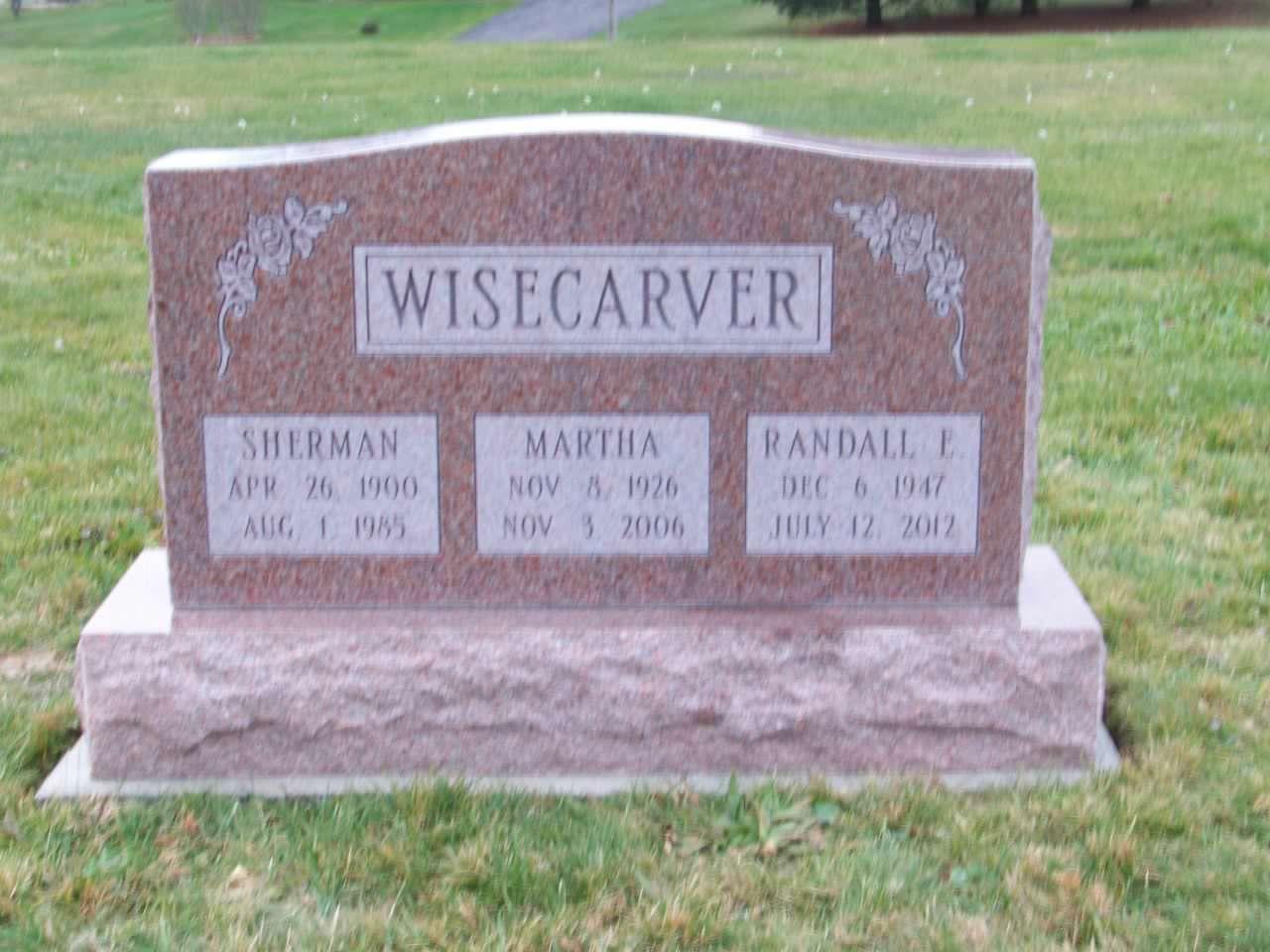 Wisecarver, Sherman, Marthe