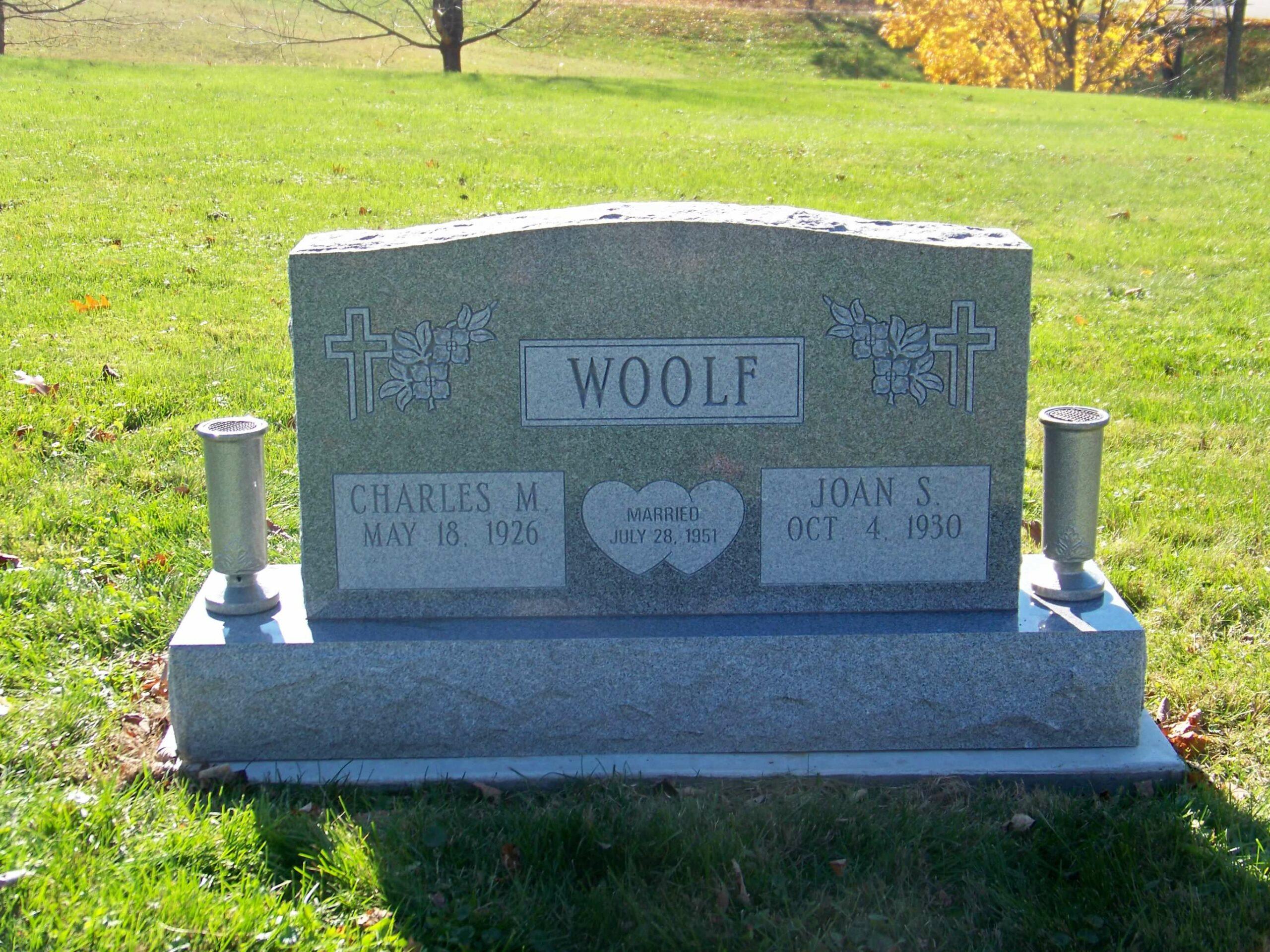 Woolf, Charles