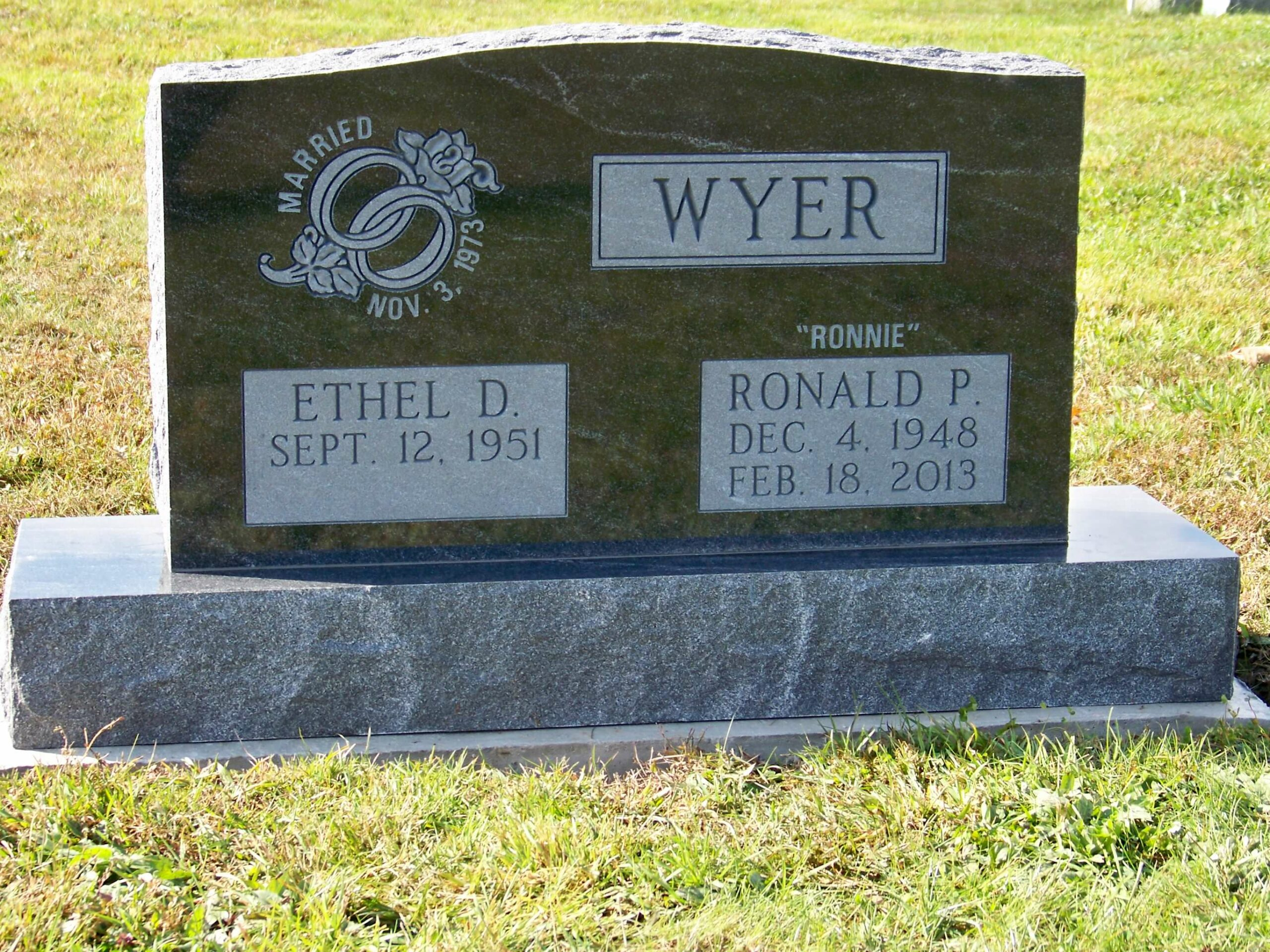 Wyer, Ronald