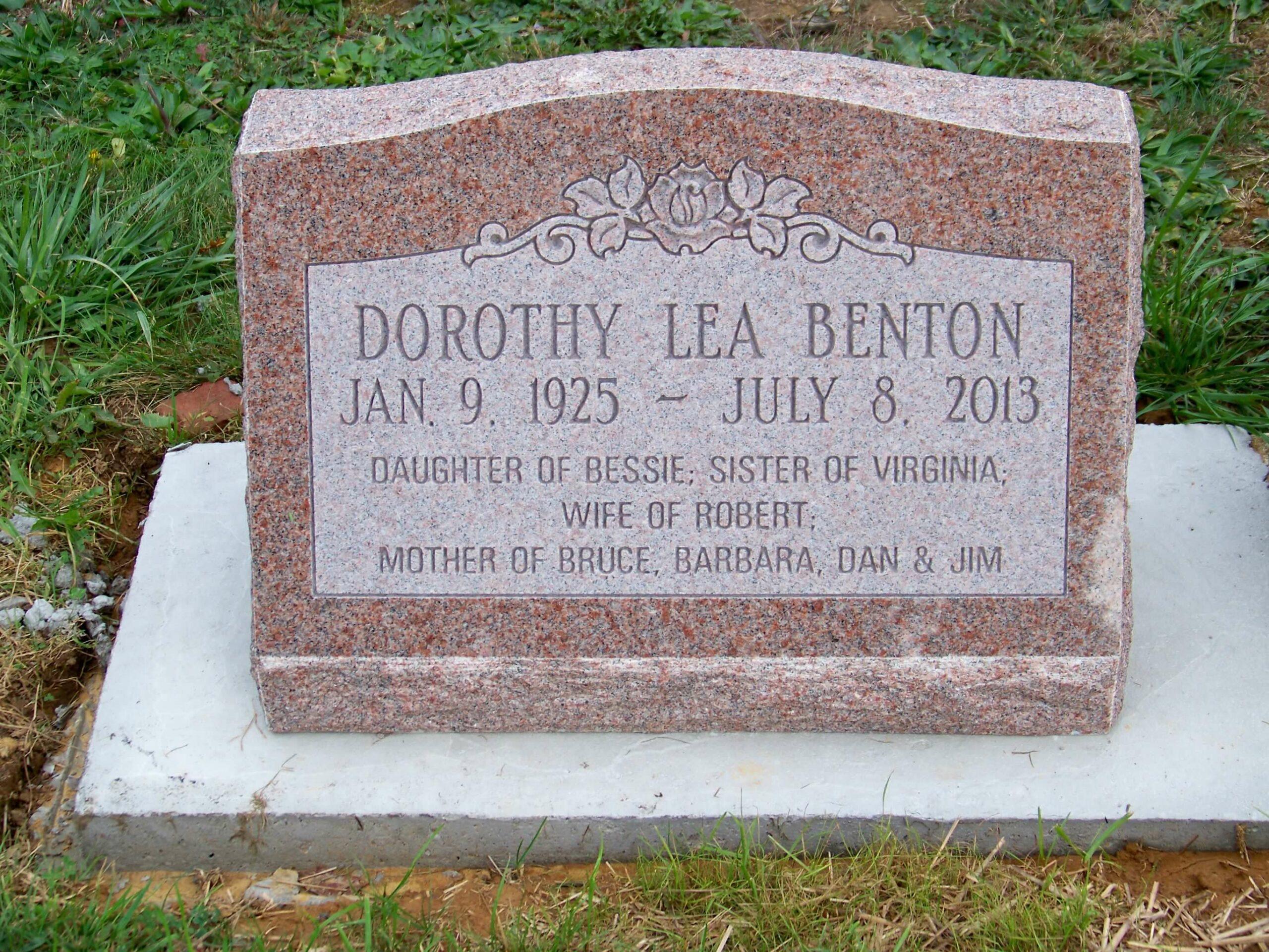 Benton, Dorothy -- Greenwood-Zanes