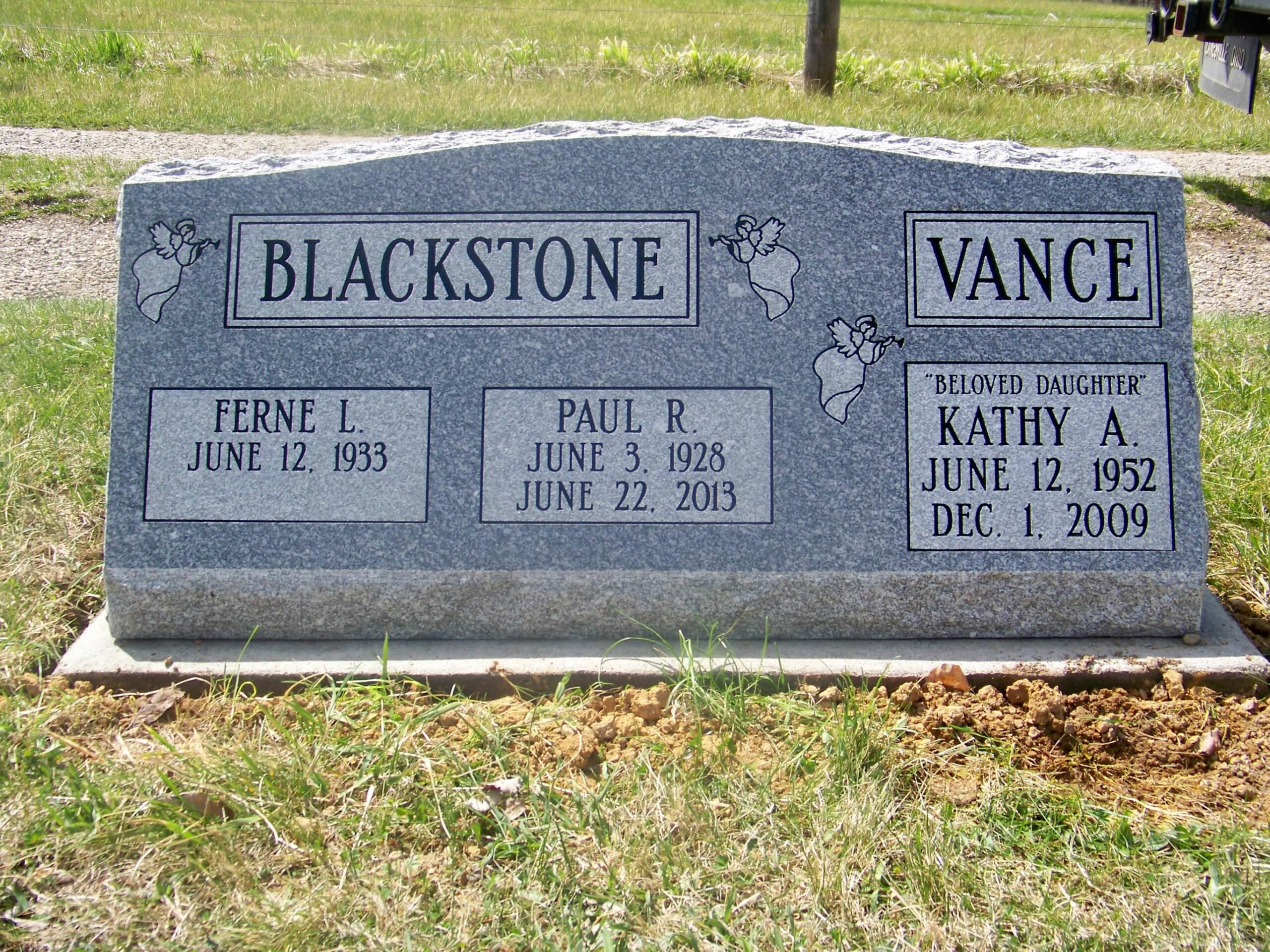 Blackstone, Rerne, Paul