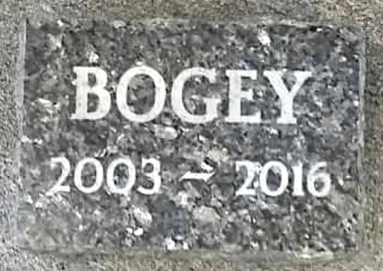 Bogey Pet Memorial
