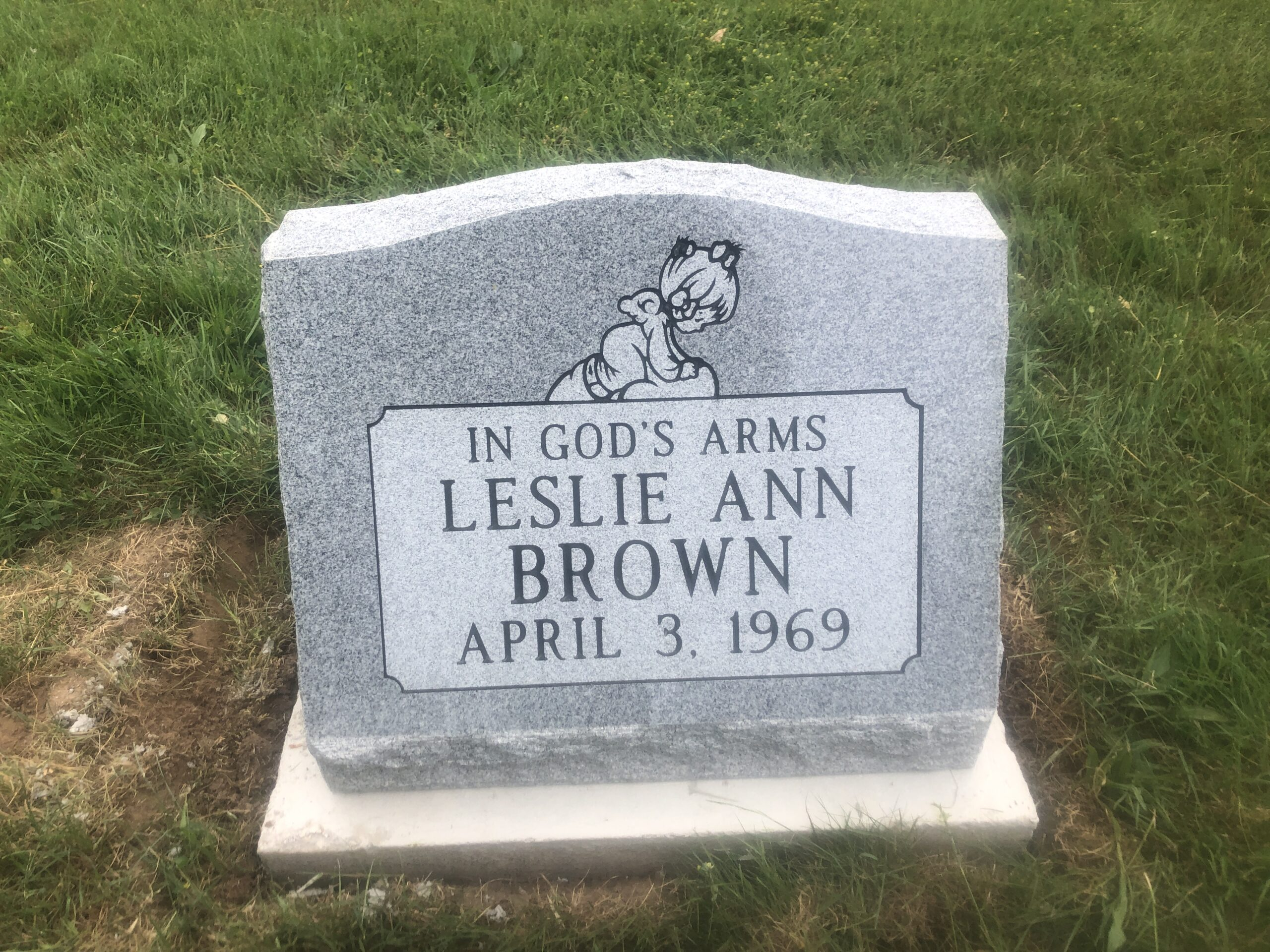 Brown, Leslie Ann - Greenwood Cem. ZV, 1-8, Gray