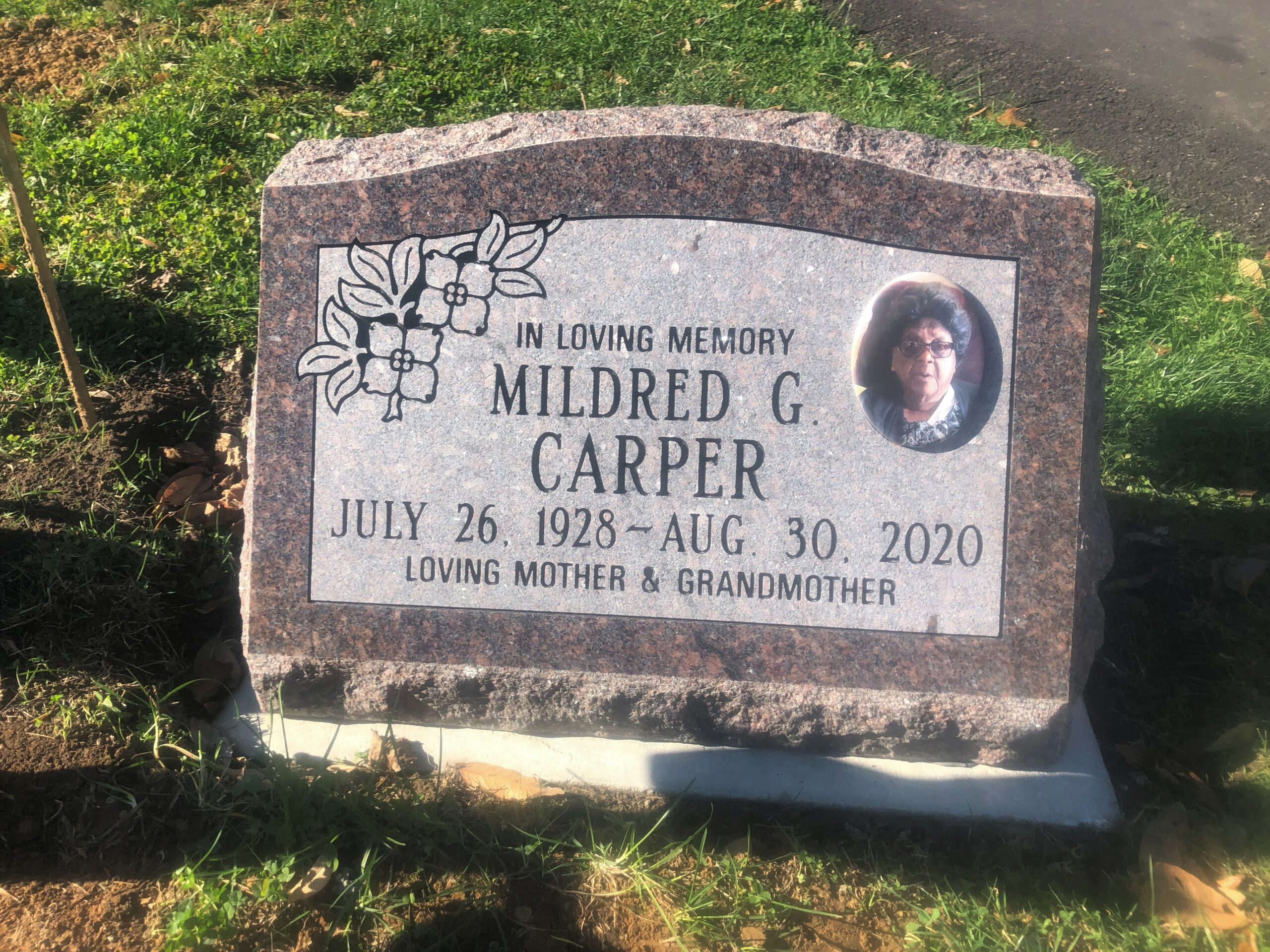Carper, Mildred - Woodlawn Cem., 2-0, Mahogany