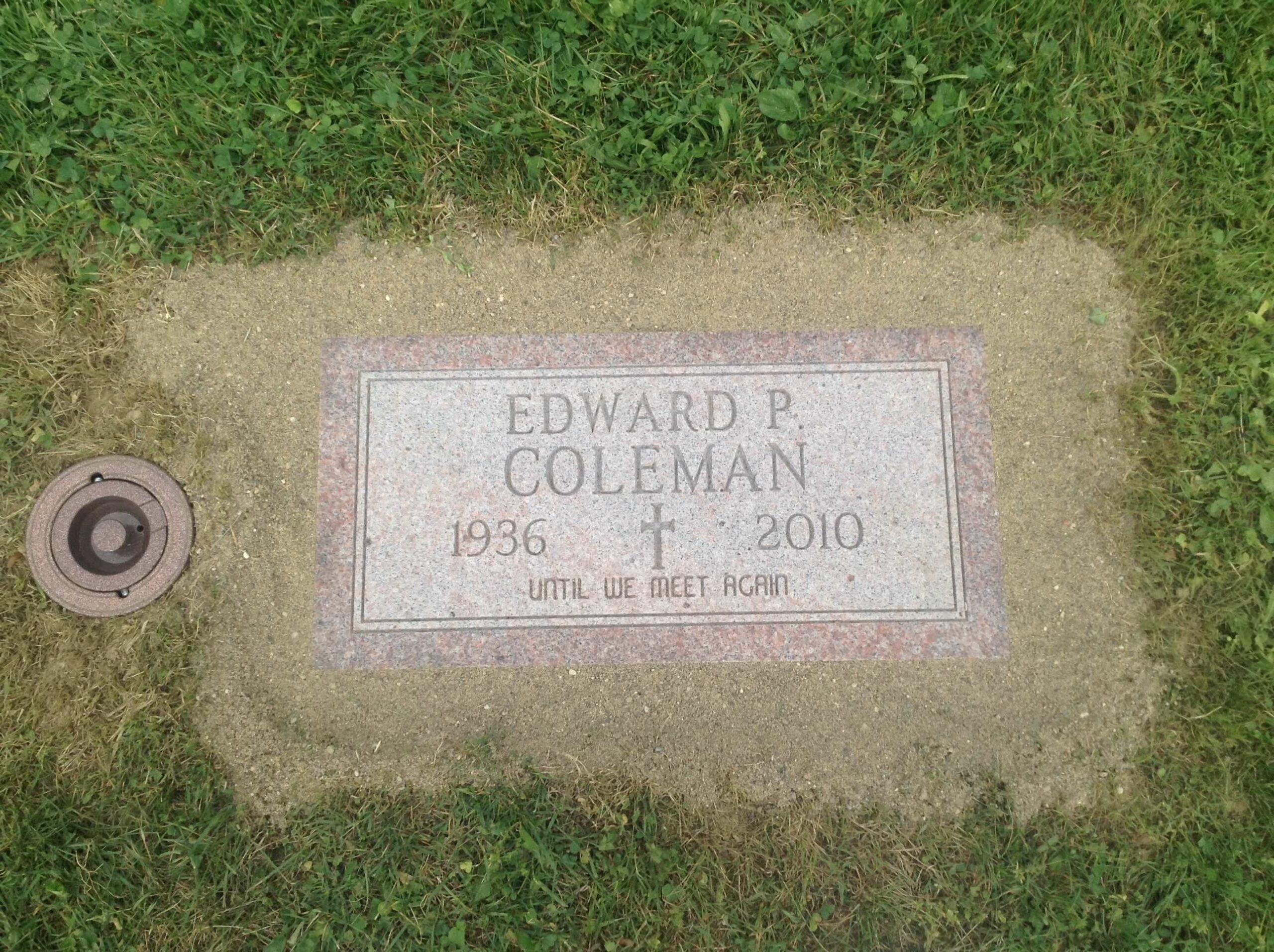 Coleman, Edward P. - Mt Olive-ZV