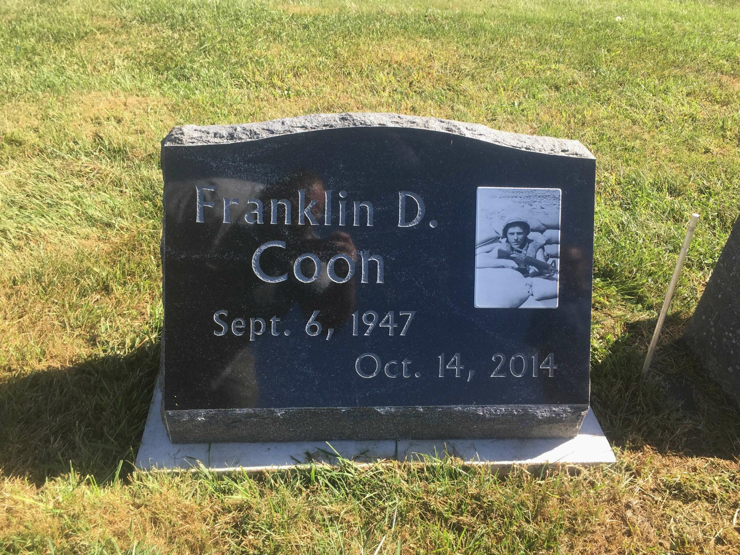 Coon, Franklin - Dresden Cemetery, 2-0, American Black (2)