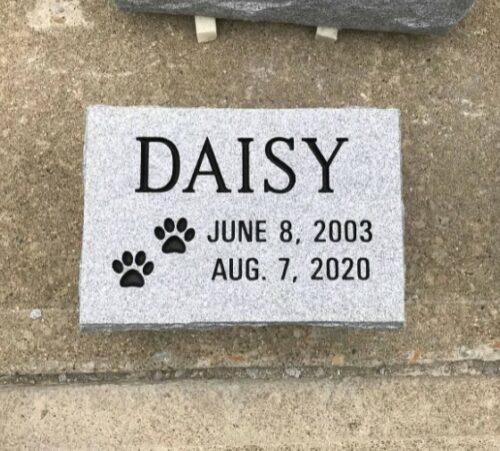 Daisy Pet Memorial