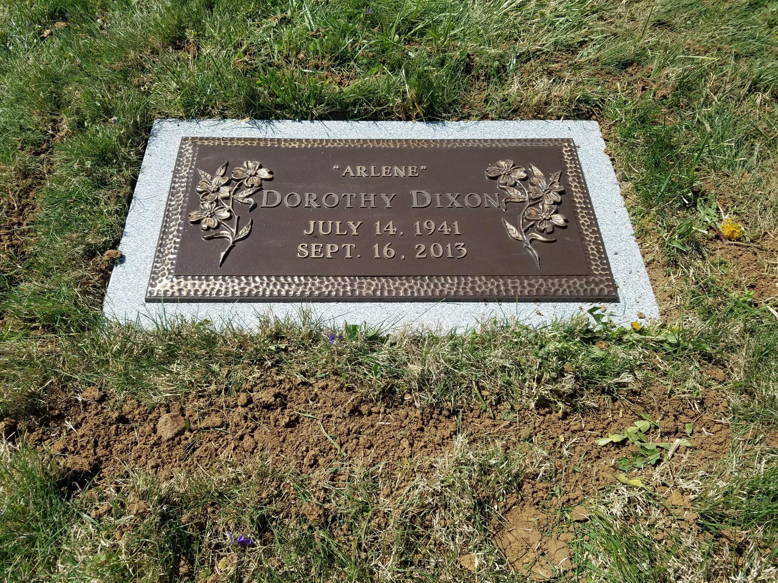 Dixon, Dorothy- Bronze- etc