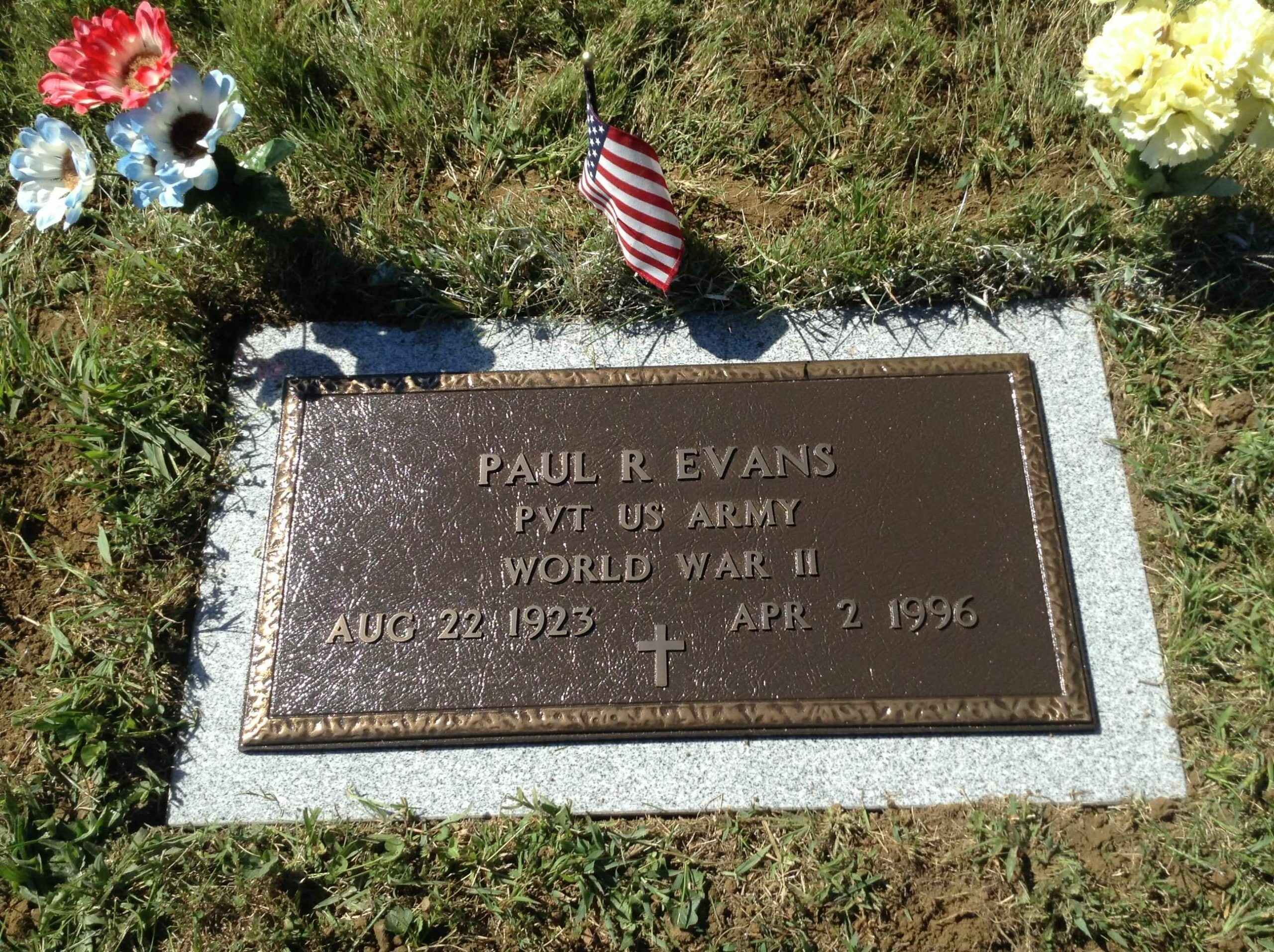 Evans, Paul - Pleasant Grove