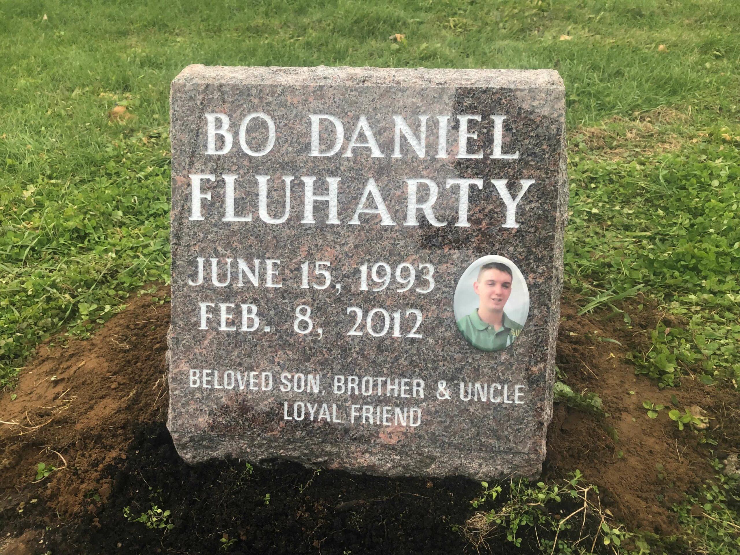 Fluharty, Bo Daniel - Duncan Falls Cem., 1-4, Mahogany