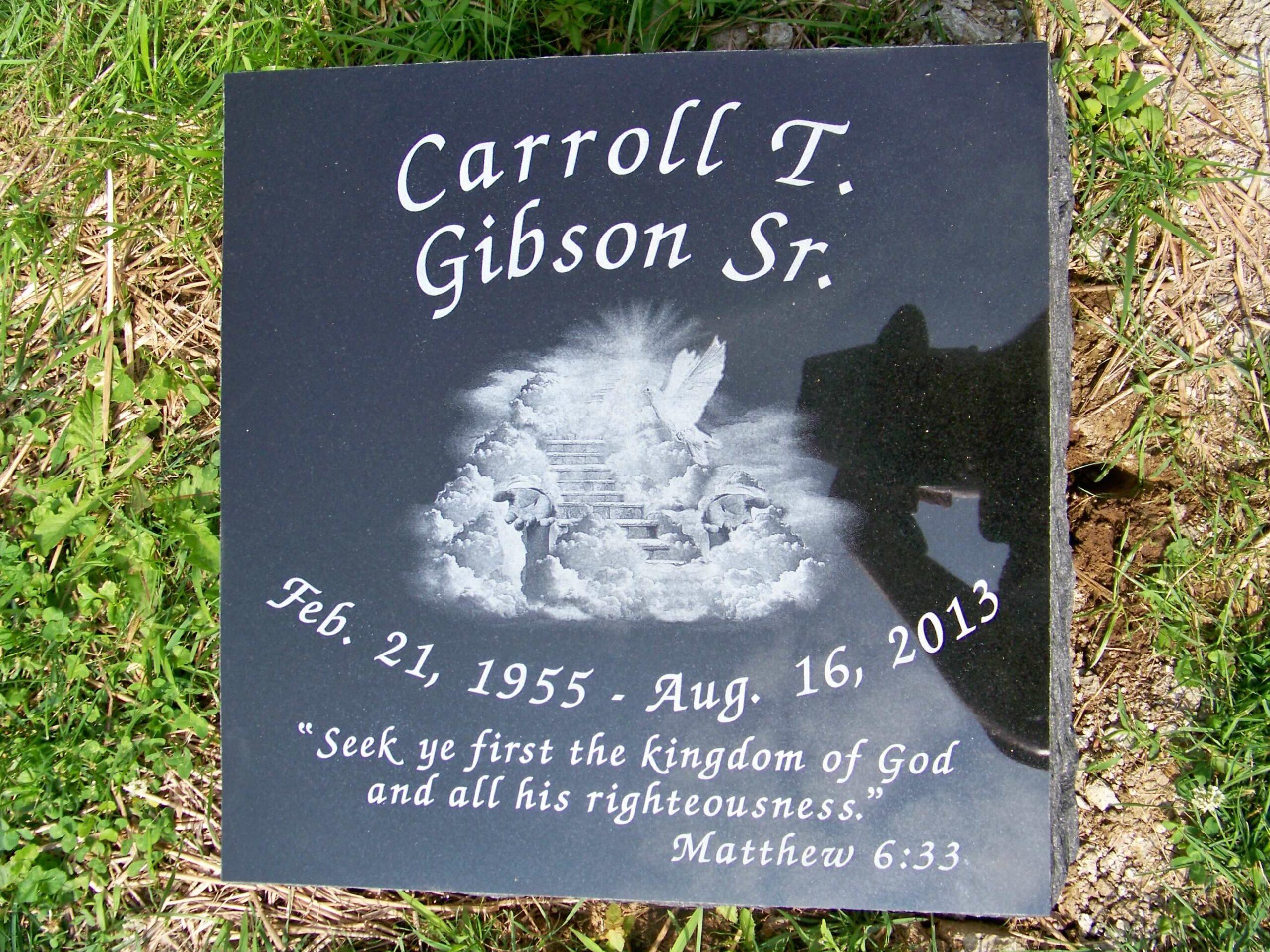 Gibson, Carroll - Woodlawn ZV (no FB)