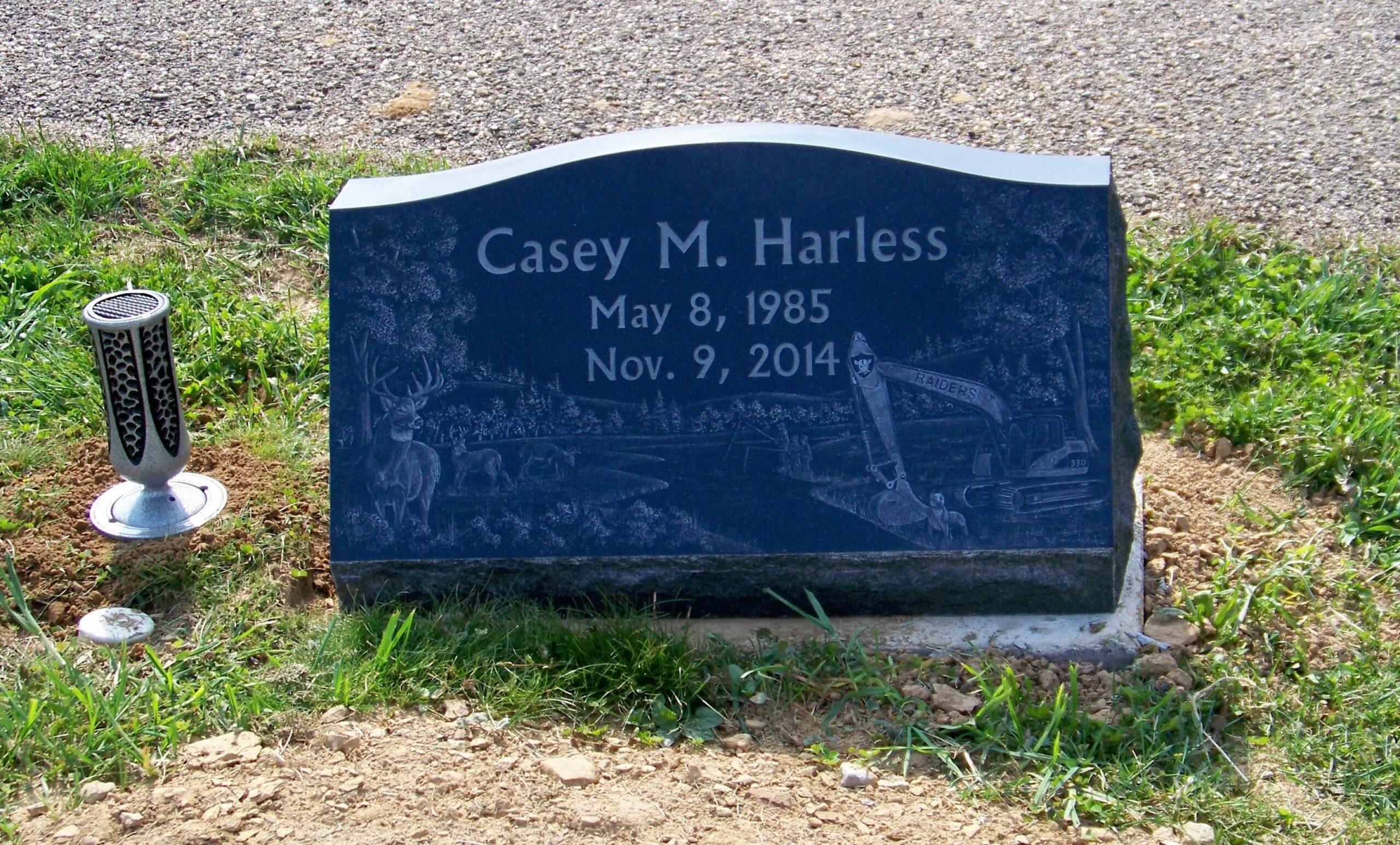 Harless, Casey M - Center Cemetery