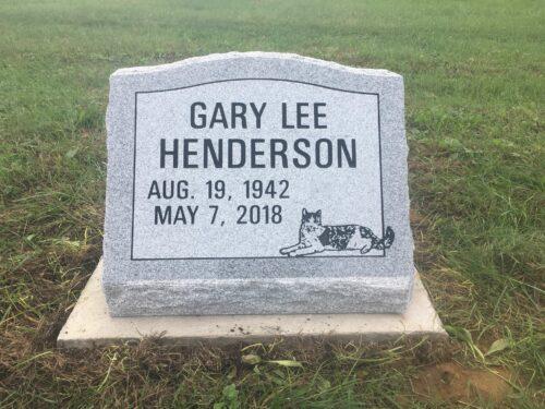 Henderson, Gary Lee - Duncan Falls Cem., 1-8, Gray